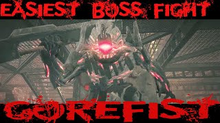 Gorefist No damage boss fight , Remnant of the asses , The Grinder location
