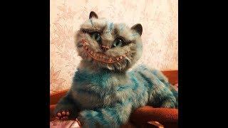 ЧЕШИРСКИЙ КОТ- ИГРУШКА ИЗ ПОЛИМЕРНОЙ ГЛИНЫ/Cheshire cat ЧЕШИРСКИЙ КОТ