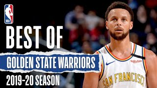 The BEST Golden State Warriors Plays From The 2019-20 Season!