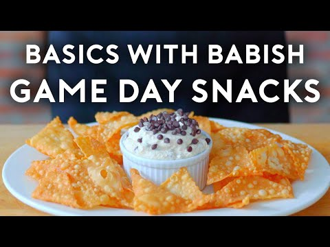 Game Day Snacks Part II | Basics with Babish