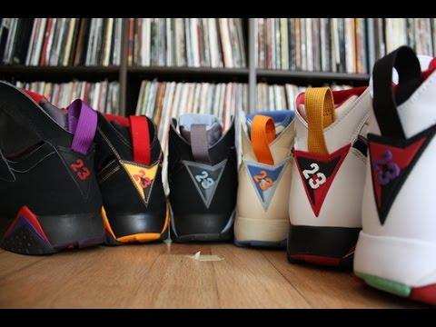Nike Air Jordan 7 Retro Collection