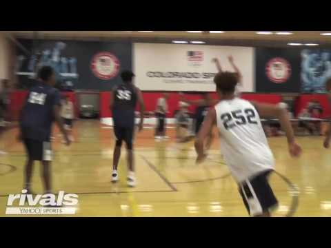 2019 Five-Star Power Forward Trendon Watford Highlights from USA Basketball