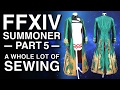 Sewing a Dress and a Coat - FFXIV Summoner Cosplay - Part 5