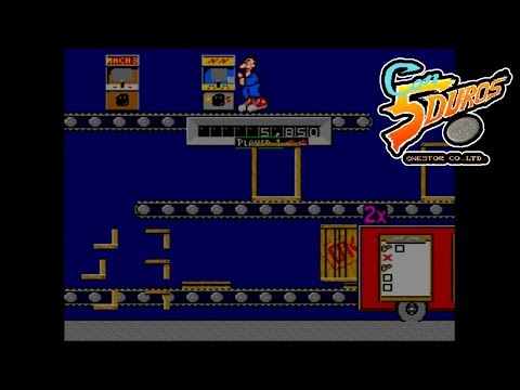 """VIDEO VINCE AND THE GAME FACTORY - """"CON 5 DUROS"""" Episodio 704 (1cc) (2 loops)"""