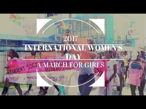 A MARCH FOR GIRLS |.| INTERNATIONAL WOMEN'S DAY 2017