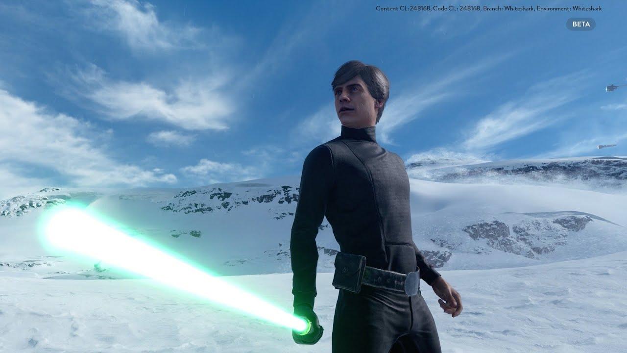 star wars battlefront beta | luke skywalker oder darth vader? - youtube
