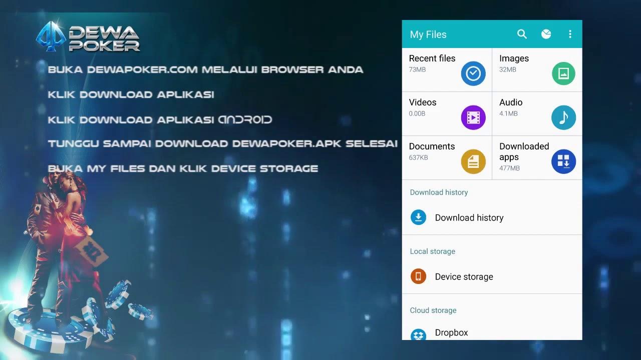 Dewapoker Cara Install Aplikasi Mobile Android Dewapoker Youtube