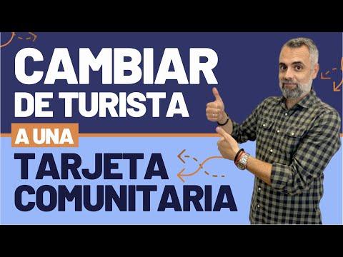Entrar como turista en España y pedir la tarjeta comunitaria