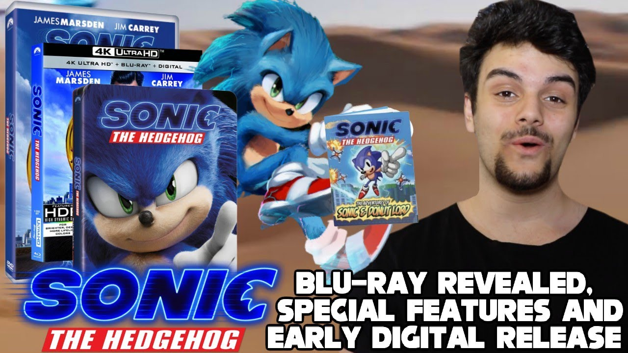 Sonic The Hedgehog Movie 2020 Blu Ray Animated Short Special Features Revealed Youtube