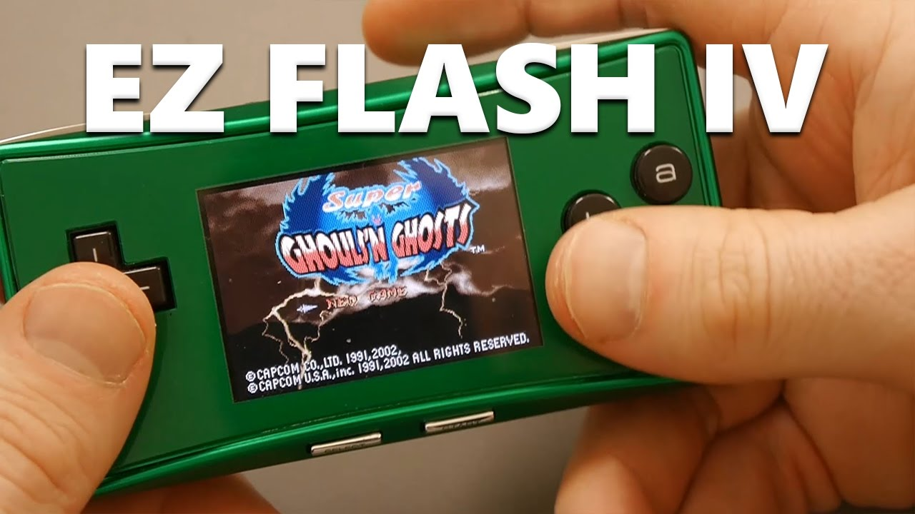 Game boy color everdrive - Ez Flash Iv An Affordable Flash Cart For The Game Boy Advance
