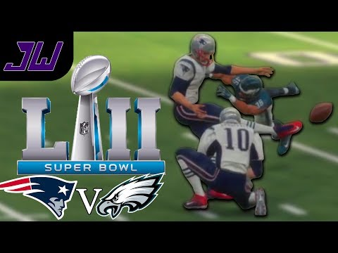 45 YARD FIELD GOAL FOR THE WIN! Super Bowl 52 Prediction | MADDEN 18 Gameplay