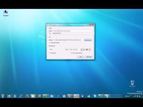 Mit VLC Konvertieren ganz leicht (ohne Ton) HD