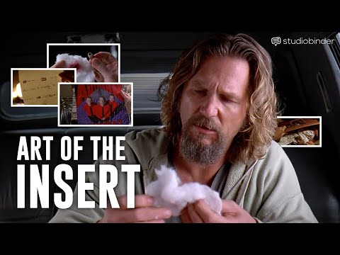 How The Coen Brothers Shoot Insert Shots (Insert Shot Examples From The Big Lebowski)