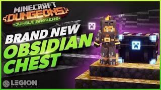 NEW Obsidian Chest Farm | Minecraft Dungeons Jungle Awakens DLC