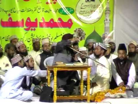 Devbandi Convert to Ahlesunnat in speech of Maulana  Yusuf raza Qadri Part1
