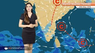 Weather Forecast for May 20: Heavy rain in Northeast and Karnataka, heatwave in Rajasthan