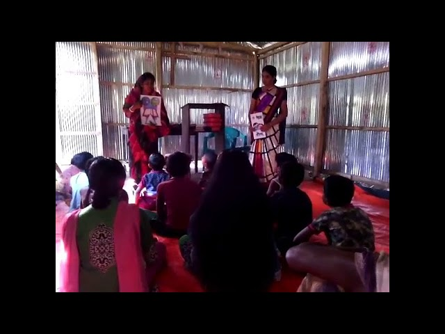 The Creation Story to the Children of Tala Bangladesh