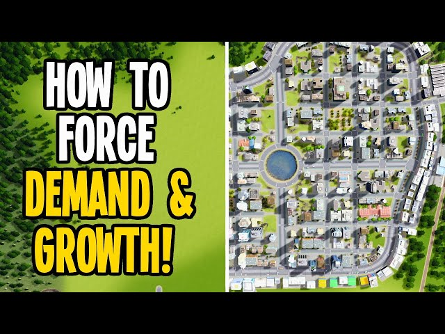 What to do when Demand & Growth Stops in your Cities Skylines!