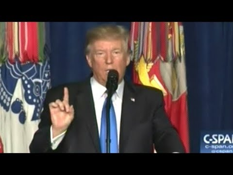 WE'RE GONNA BE IN AFGHANISTAN FOREVER! EVER! Ever! ever! President Trump