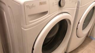 Solved! Whirlpool Error F9 E1 - how to find the pump filter!