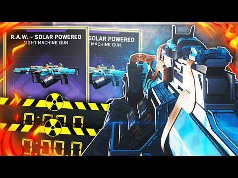 LEGENDARY RAW SOLAR POWERED DROPS A DOUBLE NUKE IN INFINITE WARFARE!? (IW RAW SOLAR POWERED NUKE)
