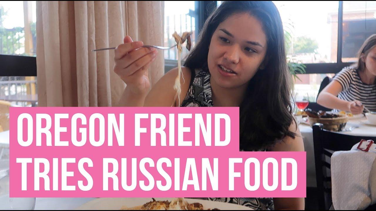 Female friend in russian