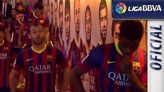 Tunnel of FC Barcelona - Athletic Club