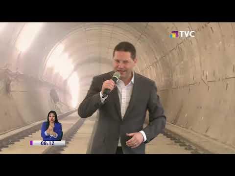 Concluye construcción del túnel del Metro de Quito