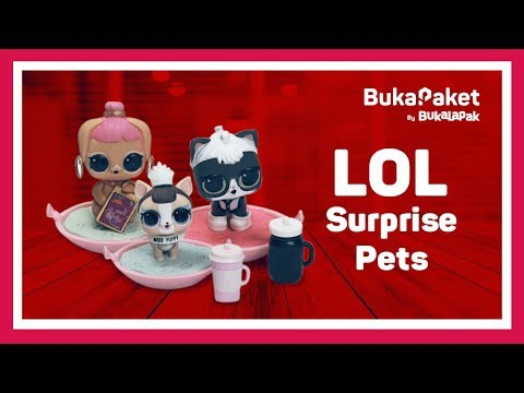 LOL Pets Surprise Indonesia | BukaPaket for Kids