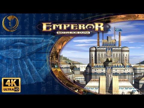 Emperor Battle For Dune Atreides Campaign Walkthrough (4K) Part 1/7 - For The Duke