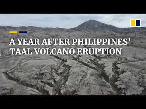 A year after Philippines' Taal volcano eruption, island remains ghost town