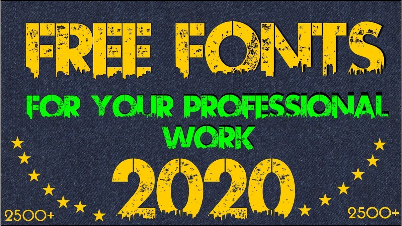 Download How to Download 2500+ Fonts Free For Coreldraw & Photoshop ...