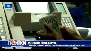 CBN Injects Fresh $195m Into Inter-Bank Forex Market Pt.3 |News@10| 23/10/17