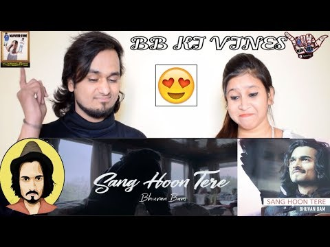 Bhuvan Bam- Sang Hoon Tere || Official Music Video || Indian Reaction