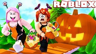 ESCAPE DO HALLOWEEN 🎃(Roblox- Escape The Halloween Obby)