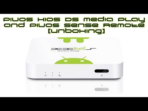 Pivos Xios DS Media Play And Pivos Sense Remote [Unboxing]