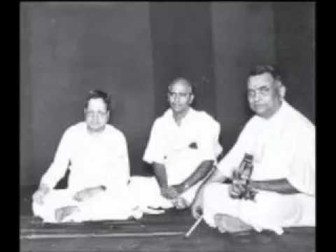 Madurai Mani Iyer -Mysore T Chowdiah- RTP Simendramadhyamam