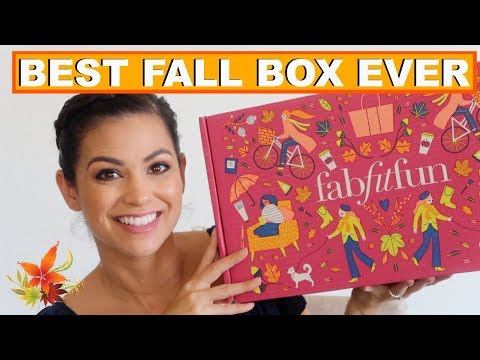 BEST FALL FABFITFUN BOX EVER!!! FALL 2018 FABFITFUN UNBOXING || Style Mom XO thumbnail