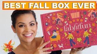 BEST FALL FABFITFUN BOX EVER!!! FALL 2018 FABFITFUN UNBOXING || Style Mom XO