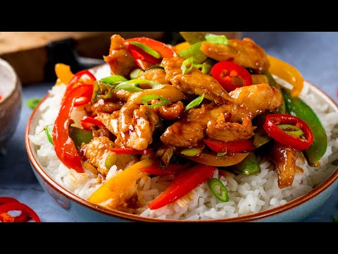 Quick and Easy Chicken Stir Fry Recipe | On the table in 20 minutes!