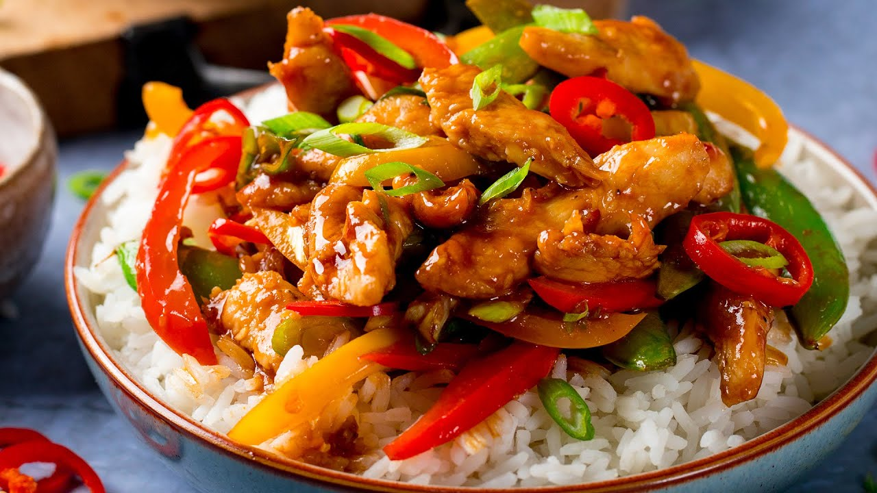 Quick Chicken Stir Fry Nicky S Kitchen Sanctuary