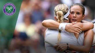 Zapętlaj Angelique Kerber vs Daria Kasatkina | Wimbledon 2018 | Full Match | Wimbledon
