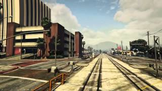 Grand Theft Auto V, Railroad time-lapse, Gameplay Sessions
