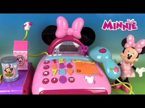 Minnie Mouse Caisse Enregistreuse électronique Electronic Cash Register