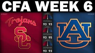 USC @ Auburn - CFA Sim League (Week 6)