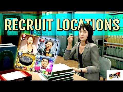 Staff Recruit Locations (Company Minigame) | Yakuza 7 Guides