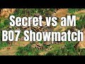 AoE2 | Team Secret vs aM - BO7 Showmatch