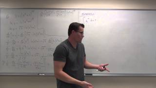 Calculus 2 Lecture 6.4:  Derivatives and Integrals of General Exponential Functions