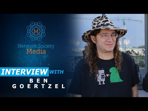 Ben Goertzel, CEO of SingularityNET discusses his projects in artificial general intelligence