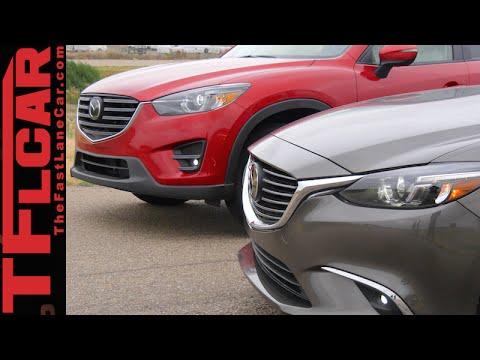 2016 Mazda6 Vs Cx 5 Mega Mashup 0 60 Mph Performance Review Sedan Crossover